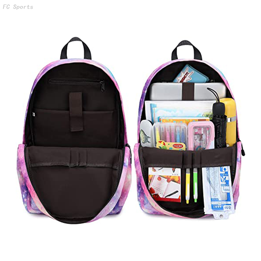 Three-piece School Backpack Cute bag school bags fit 15inch Laptop Insulated Lunch bag for Teens Boys Kids Travel Daypack