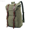 Factory Price High Quality Custom Design Vintage Men's Travel Canvas Backpack