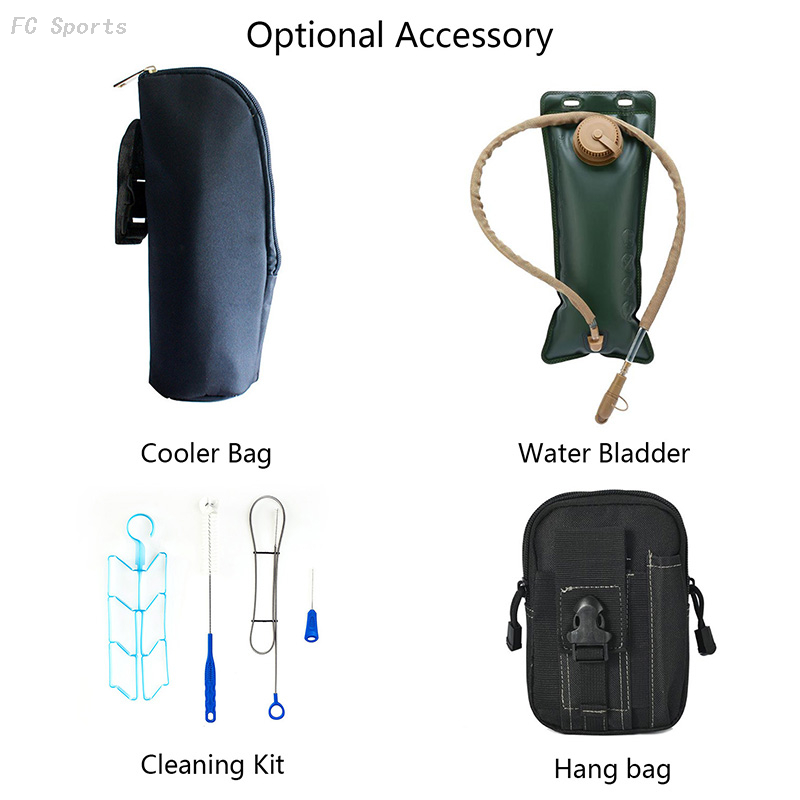 Hydration Pack Bladder Water Bag Pouch Hiking Climbing Military Outdoor Survival Backpack