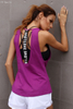 Sexy Beauty Back Smock Sports Vest Women Yoga Fitness Sports Running Breathable Quick-drying Vest Women