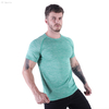 FC Sports Gym Yoga Train Wear Running Garments Men Clothing Tee Shirts Round Neck Print Tops