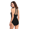 FC Sports Monokini Bodysuit Women Sexy Back One-Piece Swimsuit Solid Tether High Quality Beachwear