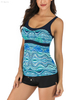 FC Sports Swimming Wear Printing Shirt Ladies Top Beach Sexy Women Adjustable