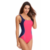 FC Sports Women's One Piece Professional Athletic Swimsuit Racing Triangle Sport Bodysuits