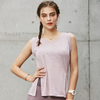 Yoga Vest Women Running Fitness Clothes Sports Fitness Women Striped Slimming Was Thin And Quick-drying Clothes