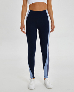 FC Sports Yoga Legging High-waist Contrast Color Workouts Clothes Active Wear for Women 2019