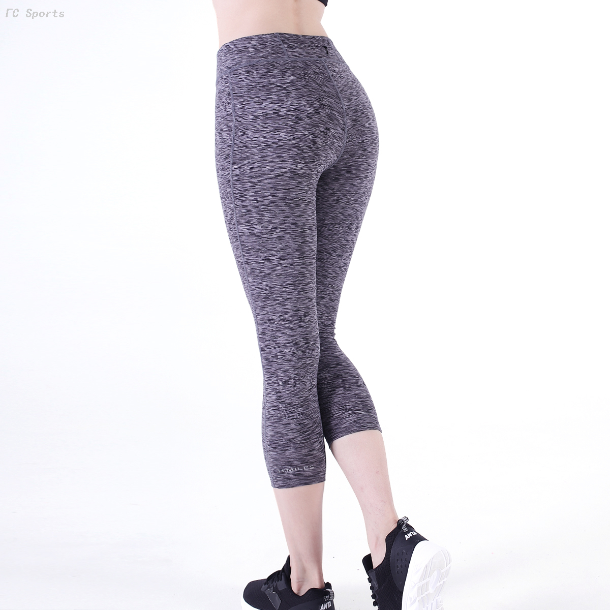FC Sports Legging Yoga Pants Casual Stretch Breathable Fitness Clothes Active Wear for Women