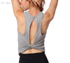 Yoga wear,Back hollow design,Waist knot design , wicking and breathable