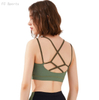 Breathable and quick-drying sports underwear women running shock-collecting yoga vest fitness bra