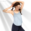 Sling sleeveless yoga vest female fitness running quick-drying top hollow breathable blouse