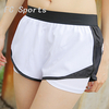 Summer sports shorts female zipper anti - leakage outside wearing gym loose fast - dry high - waist yoga running pants