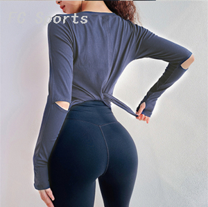 Fitness Sport Top Women Seamless Short Sleeve Top Sports Wear for Women Gym Yoga Shirt Fitted Workout Shirts for Women